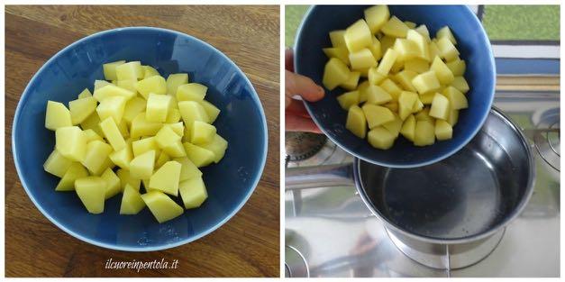 cuocere patate