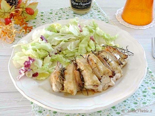 petto di pollo interno al forno