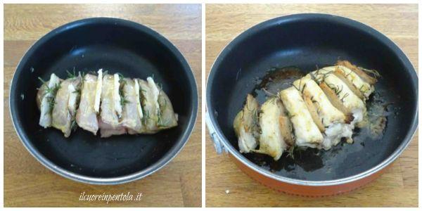 cottura petto di pollo intero al forno