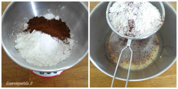 aggiungere ingredienti solidi all'impasto