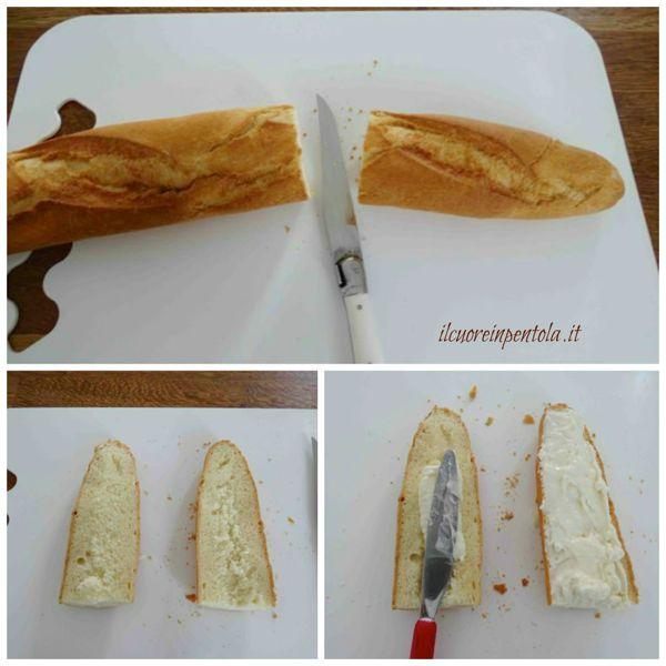 tagliare baguette