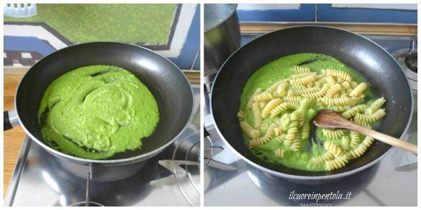 mantecare pasta