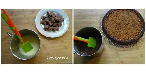 farcire con crema al cioccolato