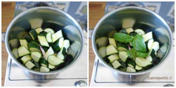 cuocere zucchine in umido