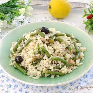 insalata di riso con tonno