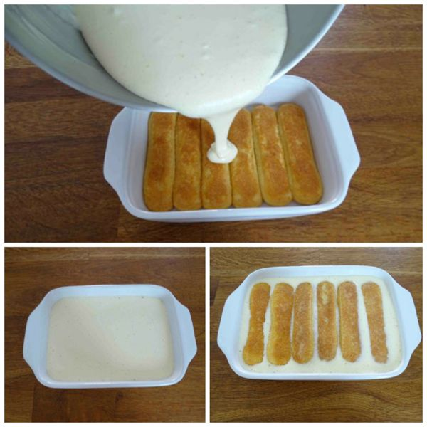 aggiungere crema al mascarpone