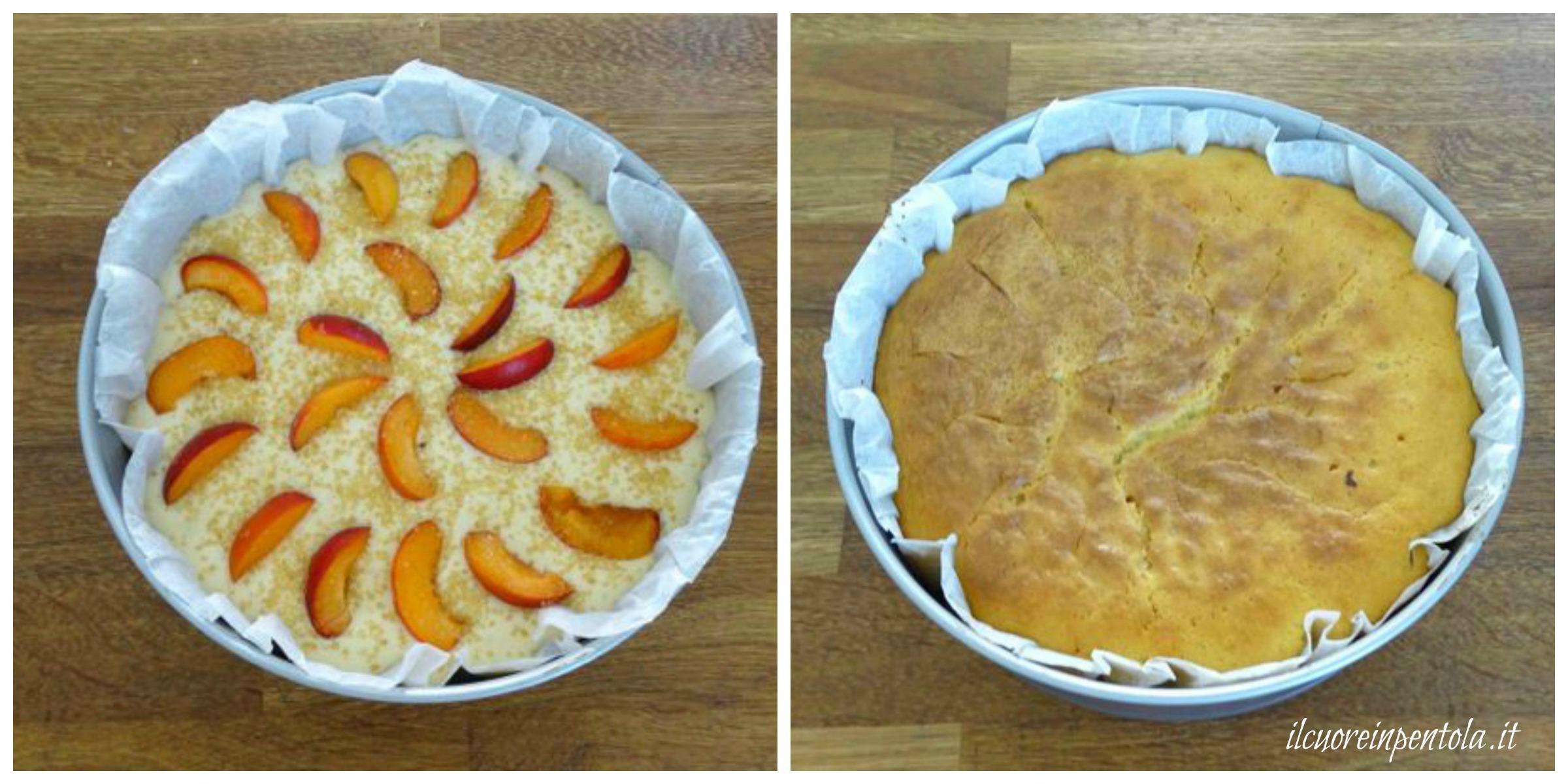 cuocere torta