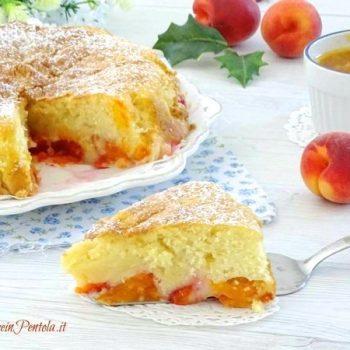 torta di albicocche fresche