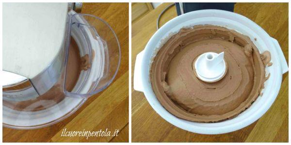 mantecare nella gelatiera