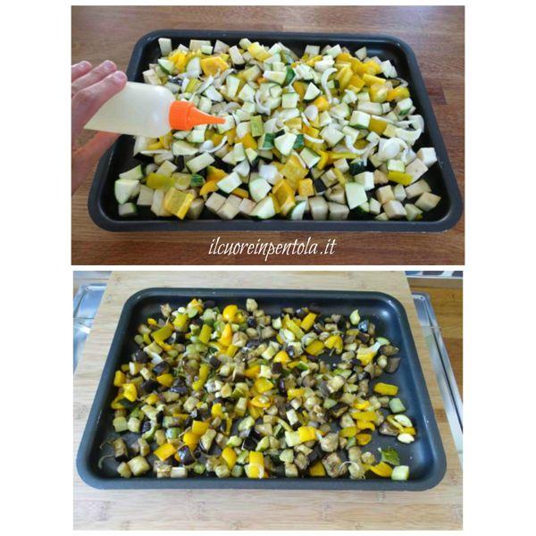 cottura verdure in forno