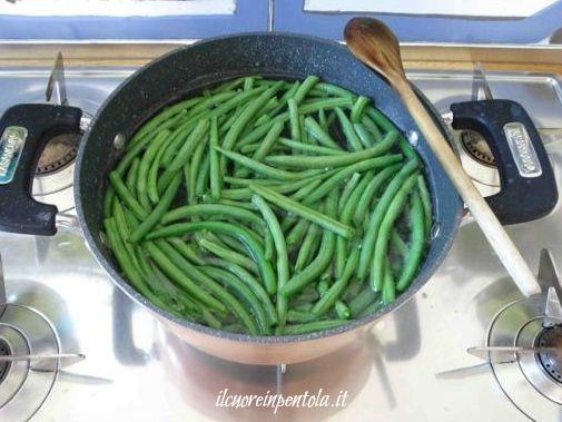 cuocere fagiolini