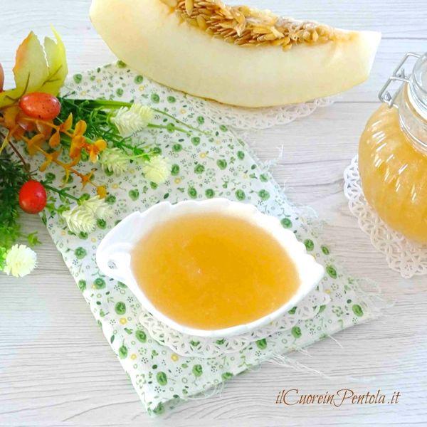 marmellata di melone bianco