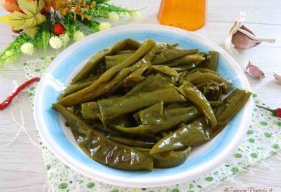 Peperoncini verdi in padella