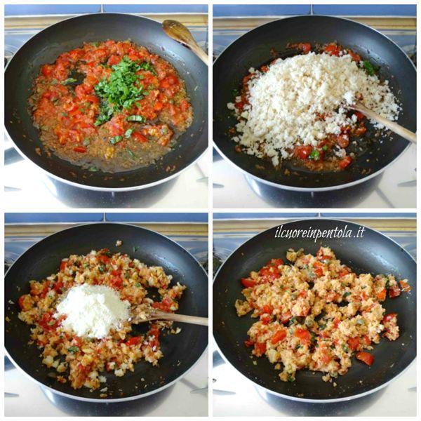 aggiungere mollica aromi e formaggio