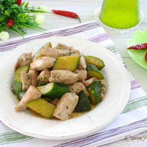 pollo e zucchine