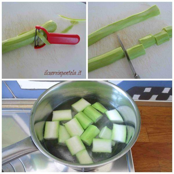 bollire zucchina