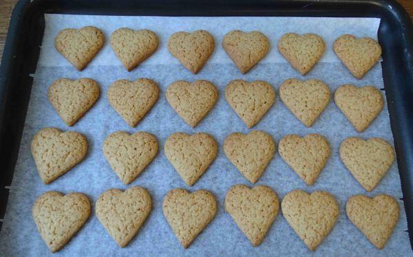 cottura biscotti al miele
