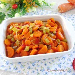 carote in agrodolce