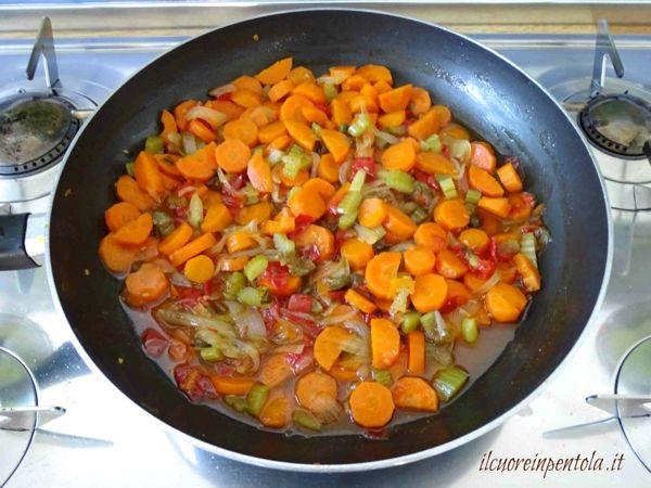 carote in agrodolce pronte