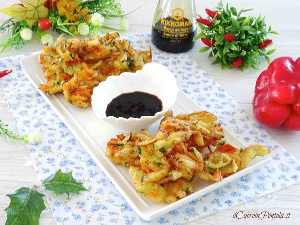 frittelle di verdure in pastella