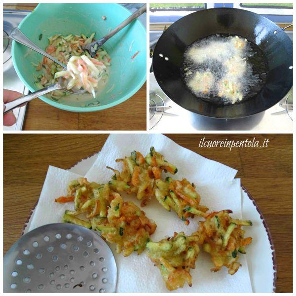 friggere verdure in pastella