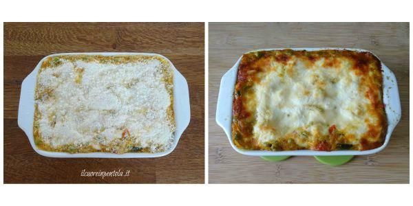 cuocere lasagne in forno
