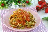 Pasta fresca al basilico