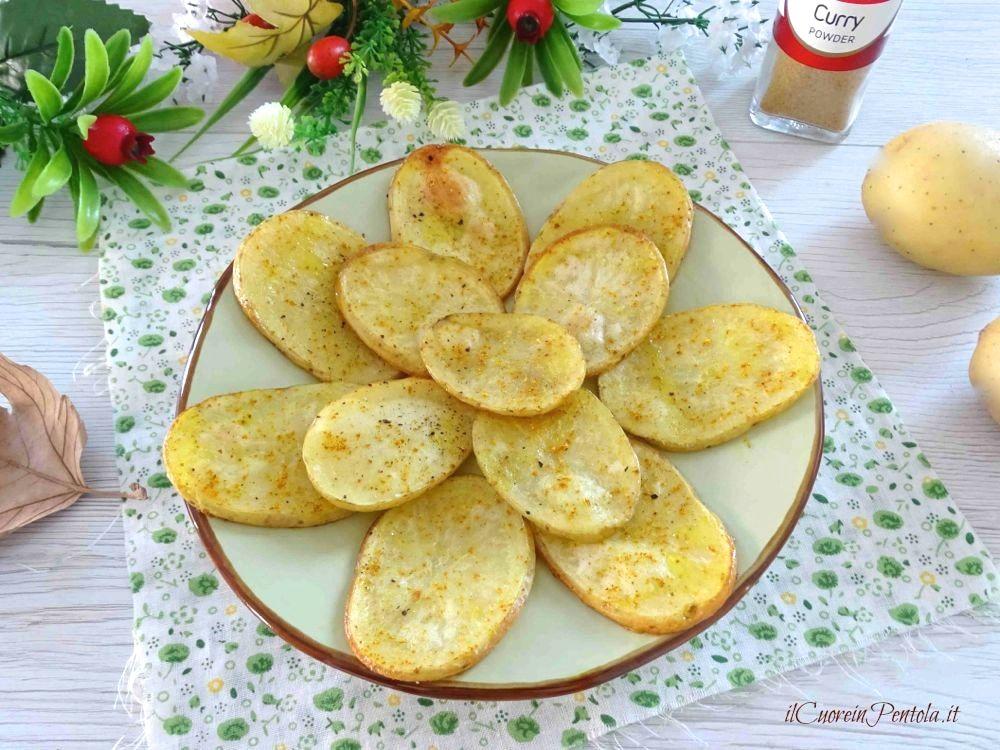 patate a fette al forno