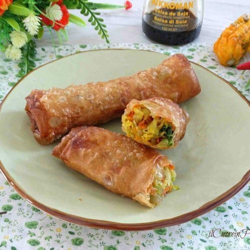 Involtini Di Pasta Fillo Con Verdure Ricetta Il Cuore In Pentola