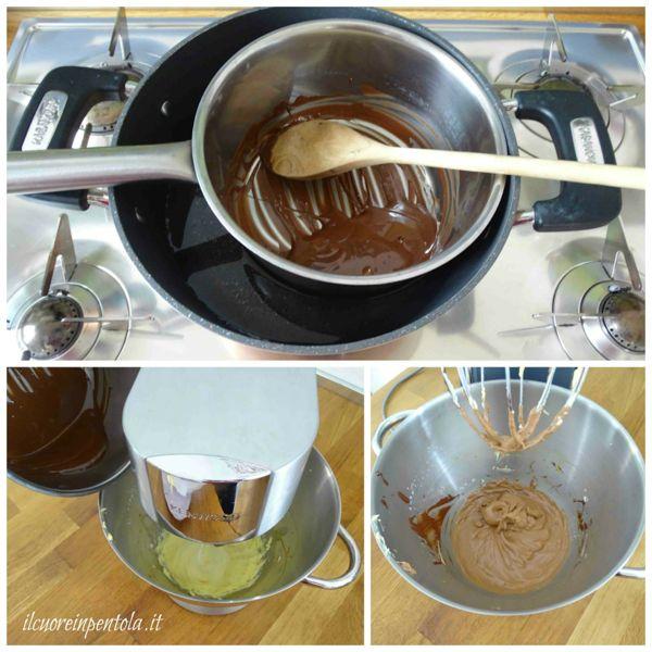aggiungere cioccolato fuso