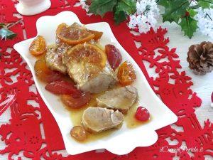 Arrosto di maiale con mostarda di frutta