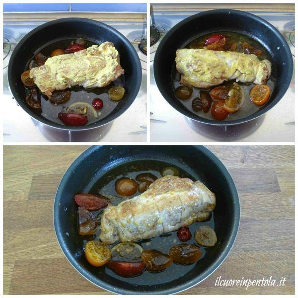 cuocere arrosto in forno