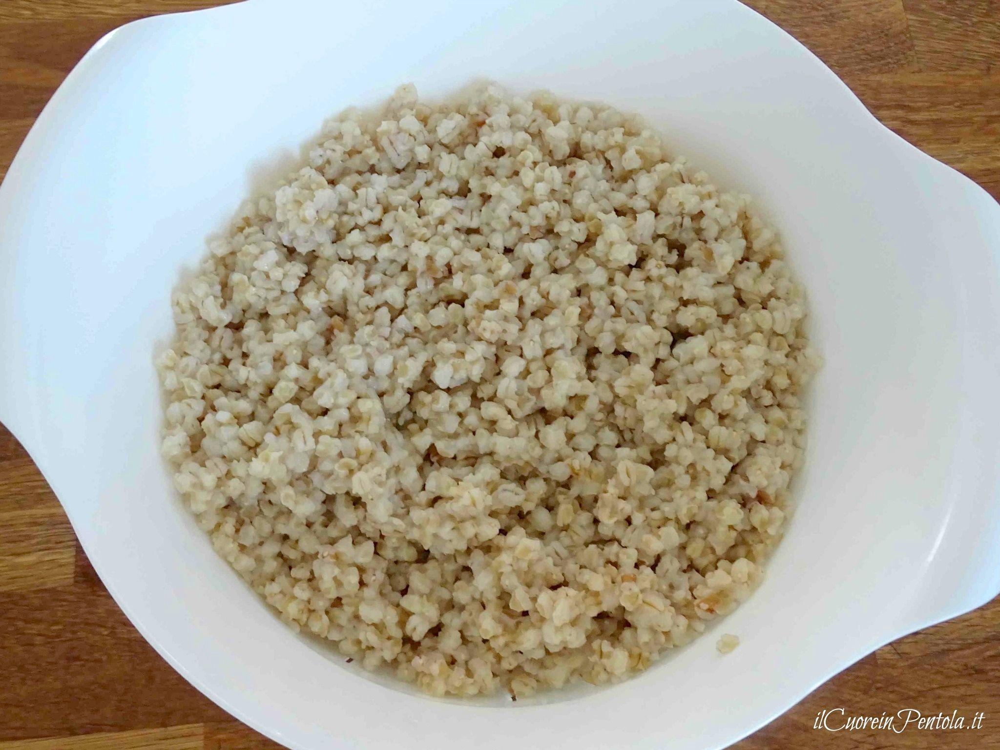 come cucinare il grano per la cuccìa