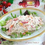 insalata di pollo e maionese