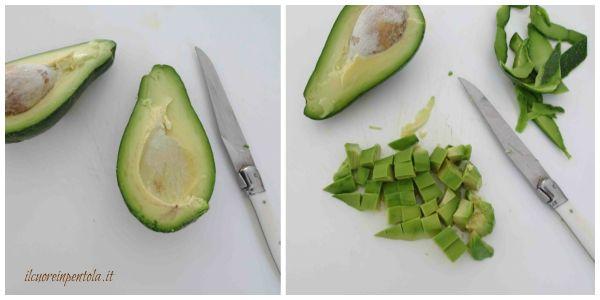 pelare e tagliare avocado