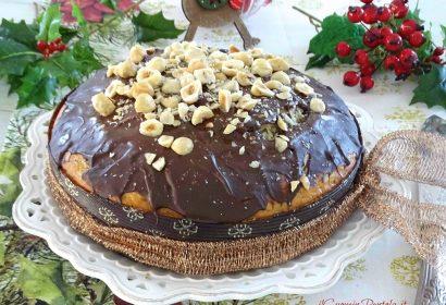 Torta panettone al cioccolato