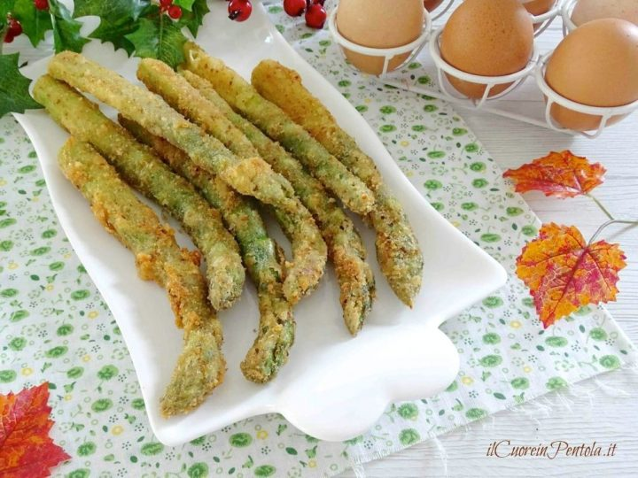 asparagi fritti