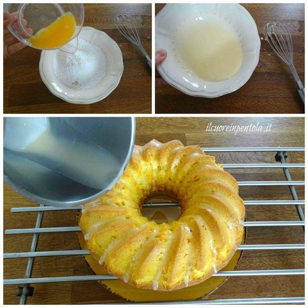 preparare glassa allo zucchero