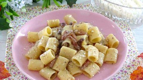 Ricetta Gricia Con Bimby.Pasta Alla Gricia Ricetta Pasta Alla Gricia Cremosa Il Cuore In Pentola