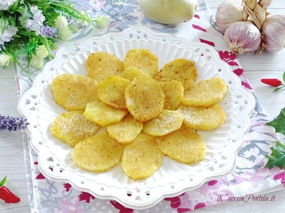patate sabbiose a fette