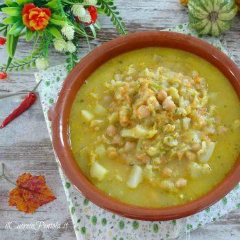 zuppa di ceci bimby
