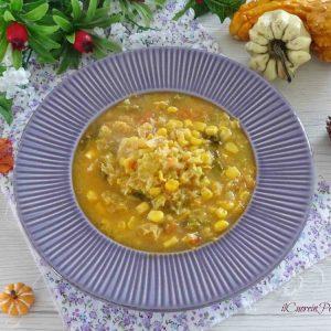 zuppa di mais