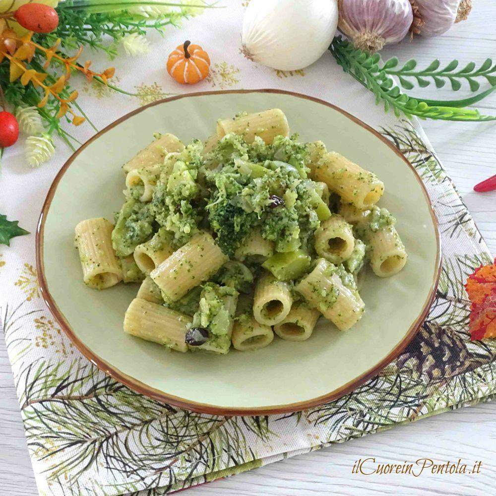 Pasta e broccoli alla siciliana ricetta siciliana il for Pasta ricette
