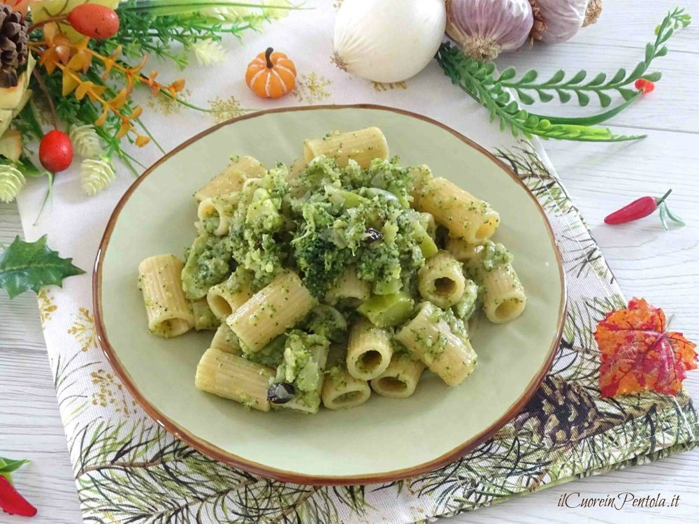 pasta e broccoli alla siciliana
