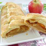 strudel di mele con pasta sfoglia