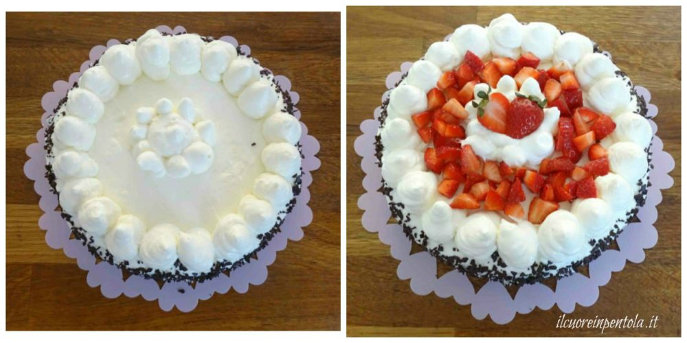 decorare superficie torta