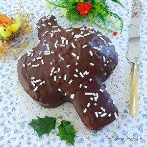 colomba al cioccolato senza lievitazione