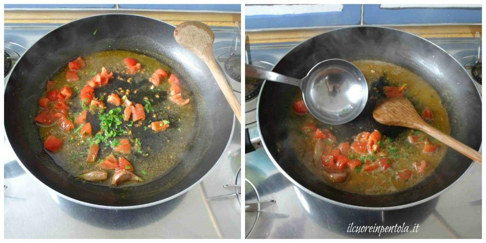 cuocere pomodoro