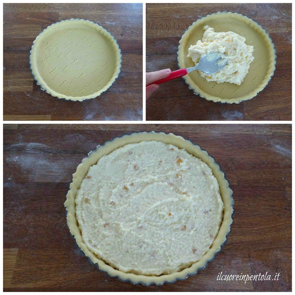 aggiungere crema al semolino
