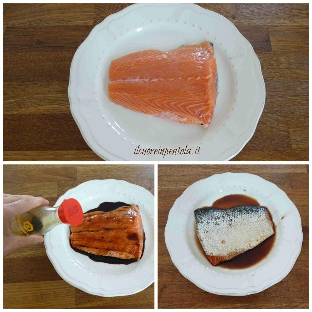 marinare salmone